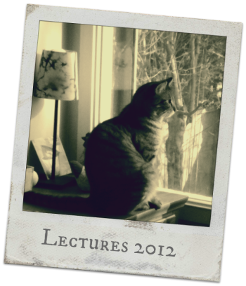 lectures2012