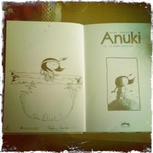 Sénégas Anuki dédicace Eliot