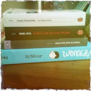 achat livres 25 janvier 2013