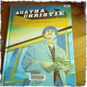 Christie le crime de l'Orient BD
