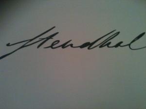 signature stendhal