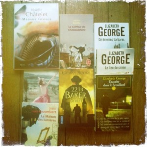achats livres mars avril 2013