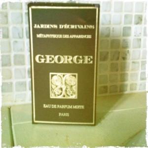 parfum George emballage