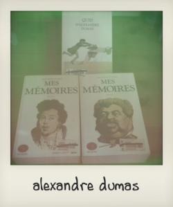achat livres juin 2013 Dumas mémoires