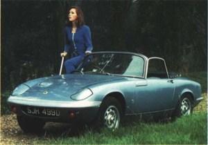 Emma Peel voiture 1