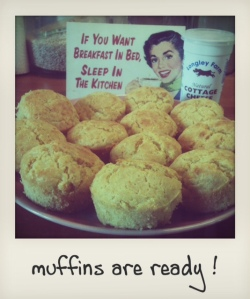 Muffins are ready