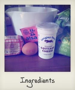 muffins cottage cheese ingrédients