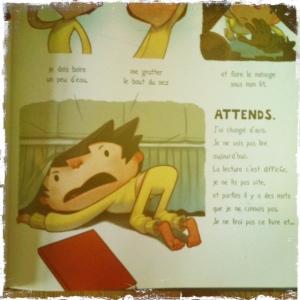 je ne lirai pas ce livre planche