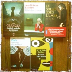 achat livres juillet 2013