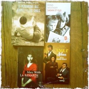 achats livres juillet 2013 2