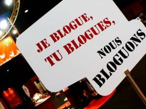 Logo bloguer