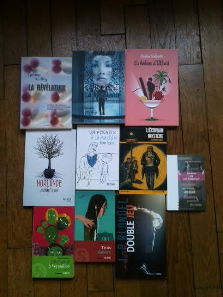 achats livres SLDJ 2013