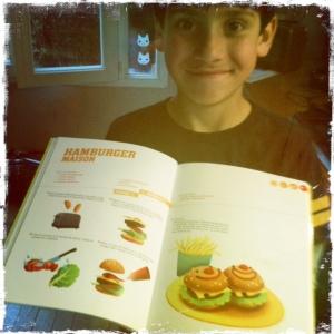 Livres recette ELiot hamburger
