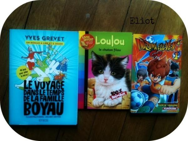 Eliot 3 livres