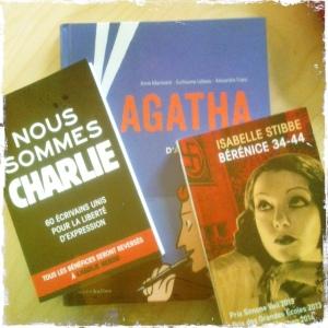 Achats livres 2015 février