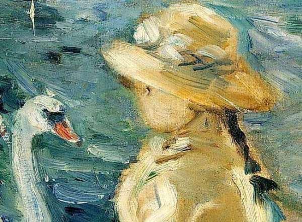 Berthe-Morisot-Sur-le-lac-du-bois-de-Boulogn
