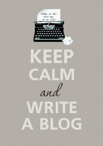 keep clam et write a blog