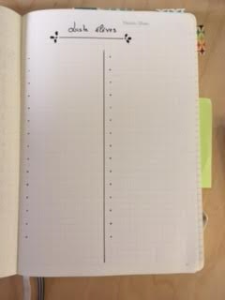 bujo prof liste d'élèves